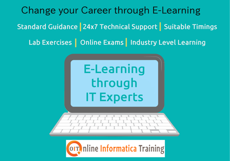 Online Training for all IT Courses at Online Informatica Trainin | Build your bright career with online training by online informatica training institute | Scoop.it