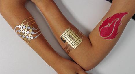 Ahora los tatuajes también son inteligentes   Wearables, sensors, medical devices   Scoop.it