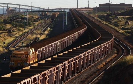 Half world's iron ore trade halted by storm in Australia's 'cyclone ...   australia news   Scoop.it