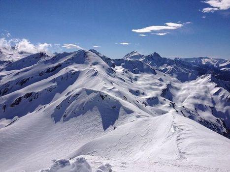 Vue depuis le pic de Bataillence ce matin - Photos from Maxime Teixeira's post | Facebook | Vallée d'Aure - Pyrénées | Scoop.it