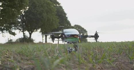 Technologie : des drones au service des agriculteurs - euronews | Une nouvelle civilisation de Robots | Scoop.it