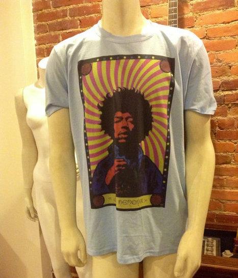 Jimi Hendrix Shirt | Woodstock Tshirt | Music Clothing | Nice T-Shirt | Scoop.it