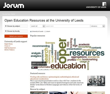 University of Leeds collaboration produces Jorum's first Open 'Window' | eLearning tools | Scoop.it