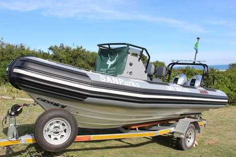 Addo Elephant National Park launches new anti-poaching vessel | Africa Green Media | Save our Rhino and all animals...this is what it looks like!!!!! | Scoop.it