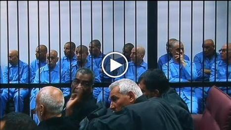 Libia: ripreso il processo contro i fedelissimi di Gheddafi - Repubblica Tv - la Repubblica.it #Video | Saif al Islam | Scoop.it