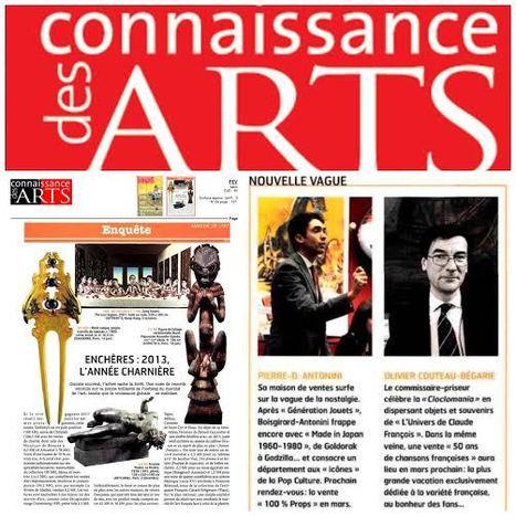 Les ventes 1960-1980 Génération jouet à l'honneur dans connaissance des Arts : Février 2014 | Vente aux encheres design et pop culture | Scoop.it