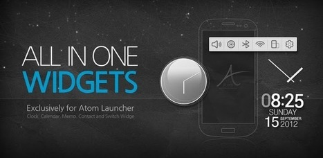 Atom All in One Widgets - Applications Android sur Google Play | Android Apps | Scoop.it