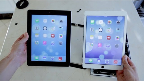 What the Next iPad Might Look Like Next to the Current iPad | iPads, MakerEd and More  in Education | Scoop.it