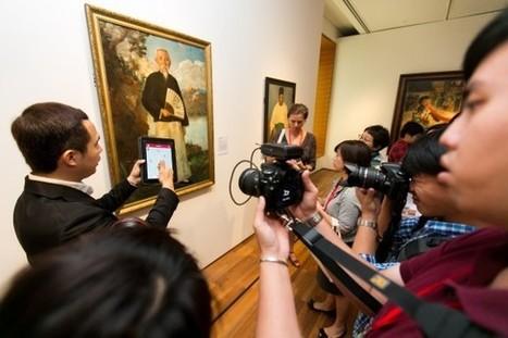 CLIC France / La Galerie nationale de Singapour et Accenture lancent l'application mobile Explorer Gallery, incluant la géolocalisation iBeacon | Clic France | Scoop.it