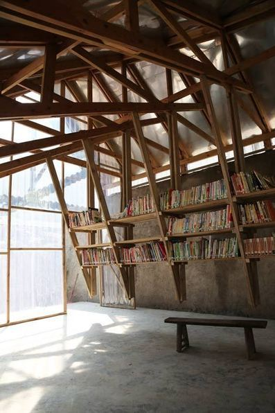 En Chine, une bibliothèque qui apporte l'innovation | Détails d'Architecture | Bibliothèques en évolution | Scoop.it