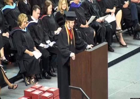 WATCH: High School Valedictorian Rips Up Speech, Recites Lord's Prayer Instead | Religion and Life | Scoop.it