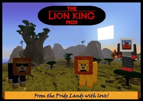 The Lion King 1.3.2 Mod for Minecraft 1.3.2 | marutza | Scoop.it