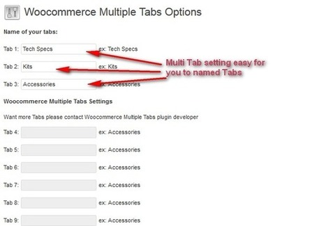How to installation Woocommerce Multiple Tabs plugin for WordPress | Joomla responsive templates | Joomla responsive template | Scoop.it