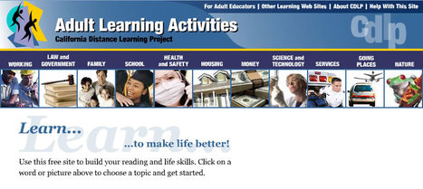 Adult Learning Activities | Adult Ed | Scoop.it