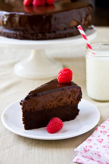 Flourless Chocolate Mousse Cake Recipe | Homemade food | Scoop.it