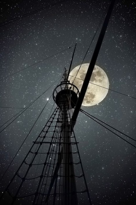 Pirate's moon.... | Liderazgo Creativo | Scoop.it