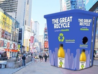 Drink Bottles Recycled Today in Times Square will be Converted into a School Garden (UPDATE) | Vertical Farm - Food Factory | Scoop.it