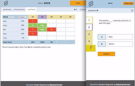 Así luce el nuevo diseño de Socrative, la popular aplicación educativa para crear quizzes | Al calor del Caribe | Scoop.it