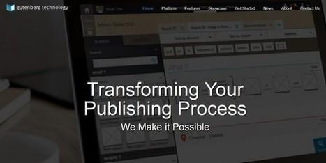 Gutenberg Technology signe avec le géant du livre universitaire américain | learning-e | Scoop.it
