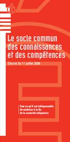 Le socle commun de connaissances et de compétences - Ministère de l'Éducation nationale | socle commun-education | Scoop.it