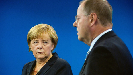 Angela Merkel defends Greek austerity measures in leadership debate - video | Eurozone | Scoop.it