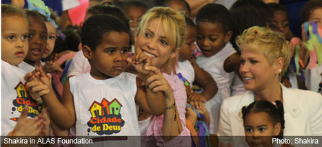 Shakira launches program for early childhood in Brazil - Colombia Reports | Columbia | Scoop.it