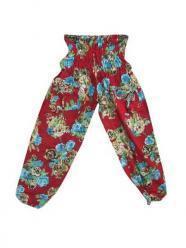 Gauchos Trouser Blue Green Floral Printed Pant | Bohemian Fashion | Scoop.it
