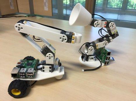 Poppy Project - Ergo Jr | robotique-codage-et-technologie | Scoop.it