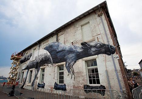 Street art on Sydney Harbour's Cockatoo Is | Australian Culture | Scoop.it