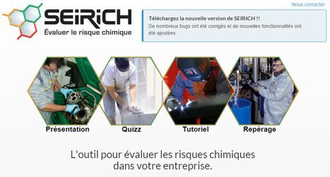 SEIRICH: Outil d'évaluation en ligne du risque chimique de l'INRS   Promotion de la santé au travail   Scoop.it