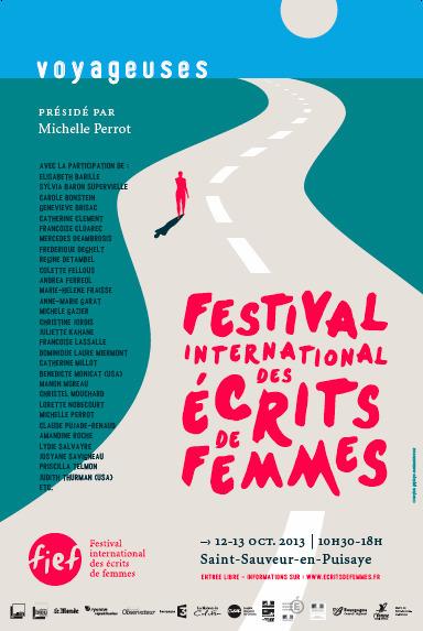 12 et 13 octobre 2013 |  Festival international des #écrits de femmes - Saint-Sauveur-en-Puisaye (89) | Miscellanées | Scoop.it