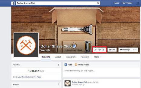 Facebook dévoile 7 nouveaux boutons call-to-action pour les pages ! | Social Media l'Information | Scoop.it