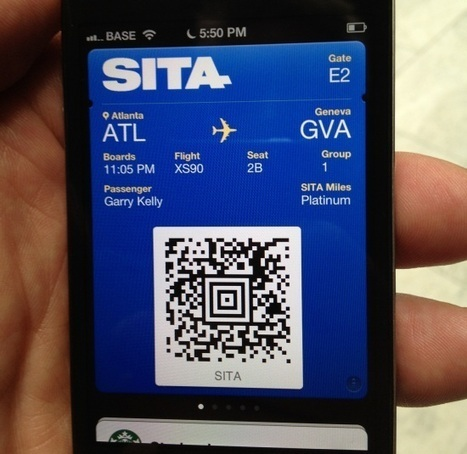 Apple Passbook and its potential impact on the travel industry | Tnooz | Travel & Tourism Marketing | Scoop.it