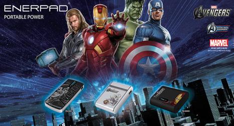 "Enerpad ""The Avengers : Iron man"" Power Bank 5200 mAh - PB-5200D | GoodShopHere.com | แบตเตอรี่สํารองราคาถูก | Scoop.it"