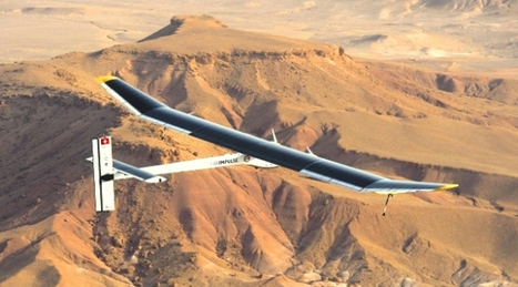 (w/Video) Solar plane to fly across US; Soared over Sahara in Morocco – CBS Evening News | Technology Trends | Scoop.it