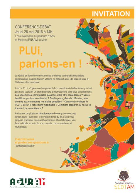 Conférence-débat PLUI, parlons-en ! | Actualité du centre de documentation de l'AGURAM | Scoop.it