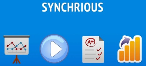Synchrious - present your slides with webcam comments | Active learning in Higher Education | Scoop.it
