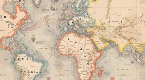 150 ans de câbles sous-marins : les cartes qui montrent que l'internet d'aujourd'hui suit les routes commerciales d'hier | Nouveaux paradigmes | Scoop.it