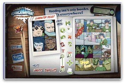 Comic Master, a Web 2.0 tool supporting 21st Century learning skills | 6th Grade Library Skills | Scoop.it