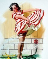 The Vintage Pin Up Girls of Donald Rust Gallery2   Rockabilly   Scoop.it