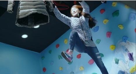 North Face piège ses clients en les obligeant à escalader un mur et à sauter dans le vide | streetmarketing | Scoop.it