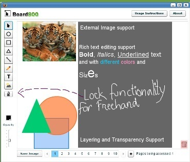 A Collaborative Interactive Painting Whiteboard: Board800 | TEFL & Ed Tech | Scoop.it