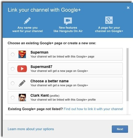 YouTube Creator Blog: Connect your Channel with a Google+ Page | ALL OF GOOGLE PLUS WITH PHILIPPE TREBAUL ON SCOOP.IT | Scoop.it