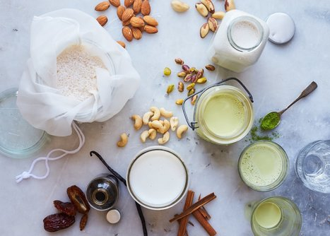 Nut Milk 101: Use This One Basic Recipe to Make Every Type of Milk | @FoodMeditations Time | Scoop.it