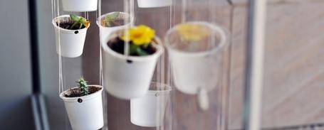 Keurig Kcup hanging planter