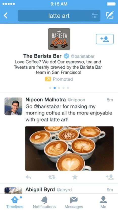 Twitter introduit les « Comptes Sponsorisés » dans ses résultats de recherche | Actualité Social Media : blogs & réseaux sociaux | Scoop.it