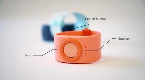 Tinitell, un bracelet connecté pour les plus jeunes, avec traceur GPS ... - KultureGeek | Les bébés connectés | Scoop.it