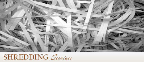 What Is the General Refine of Paper Shredding Services? | Gift Wrapping Services | Scoop.it