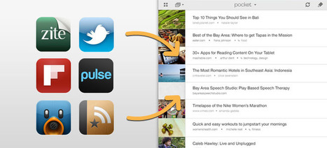 Pocket | How to Save to Pocket on iPad | Using iPads in the College Classroom | Scoop.it