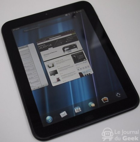 L'application Kindle sur la TouchPad de HP | News du Geek | Scoop.it
